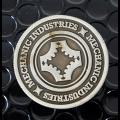 Half Dollar Coin (Gun Metal Grey) by Mechanic Industries - Trick