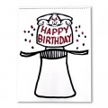Refill Birthday for Signature Edition Sketchpad Card Rise (12 pack) by Martin Lewis - Trick