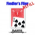 REFILL Fiedler's Flier (10S - Red Back) by Daryl - Trick