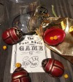 Scarab Shells RED by Black Fox Magic Set of 4