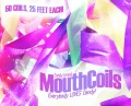 Mouth Coils by Candy Brand 25 foot made in the U.S. pack of 50