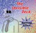 Invisible Bicycle Deck, Blue Back