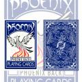 Phoenix Deck Blue by Card Shark Magic