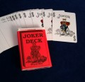 Joker Deck Full Color Joker with Bicycle Backs