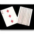 52 on 1 Double Face Single Card
