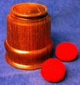 Chop Cup Large Made of Exotic Hard Wood