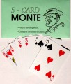 Five Card Monte Bicycle Backs by Aldini