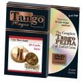 50 cents Euro Thru Hand (w/DVD) by Tango - Trick (E0057)
