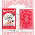 Phoenix Deck Red by Card Shark Magic