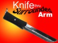 Knife Thru Arm Surrounded