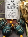 Scarab Shells GREEN by Black Fox Magic Set of 4