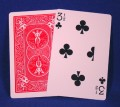 3 1/2 Clubs Bicycle Poker Card