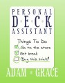 PDA (Personal Deck Assistant) by Adam Grace Bicycle Backed