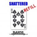 REFILL Shattered (Red Back) by Daryl - Trick