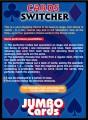 Cards Switcher Jumbo Bicycle by Eduardo Kozuch