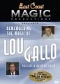 Remembering the Magic of Lou Gallo DVD