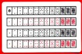 52 on 1 Cards (Royal back) 1 card= 1 unit.