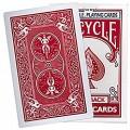 Jumbo Size Bicycle Regular Deck Red