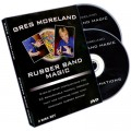 Rubber Band Magic (2 DVD Set) by Greg Moreland - DVD