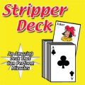 Stripper Deck Red Bicycle Back