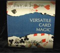Versatile Card Magic Hardbound Book by Frank Simon