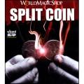 Split Coin (US Half Dollar Coin) by World Magic Shop - Trick