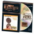 Balancing Coin (Quarter Dollar w/DVD)(D0066) by Tango Magic - Trick