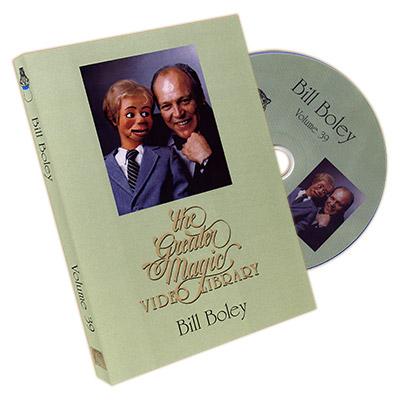 The Greater Magic Video Library Volume 39 - Bill Boley - DVD - Wholesale  Magic