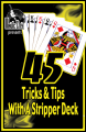 45 Tricks & Tips With a Stripper Deck by Jean Hugard Instant Download Epub